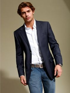 How To Wear A Blazer Jacket With Jeans Archives - Buy legal HGH in
