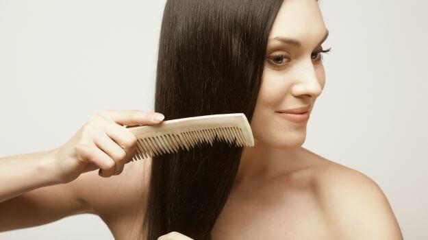 Trimming hair prevents split ends