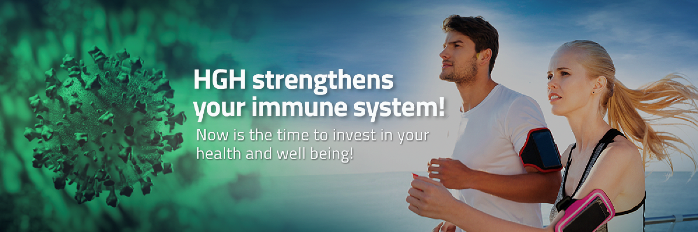 HGH strengthens your immune system
